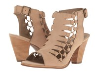 Walking Cradles Giza Light Taupe Nubuck High Heels