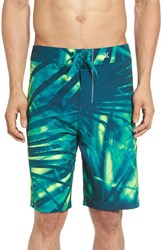 Hurley Men's 'Phantom Jjf Ii' Board Shorts Rio Teal