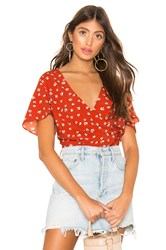 Heartloom Reese Blouse Red