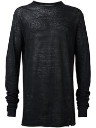 Damir Doma Fine Knit Jumper Blue