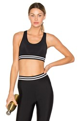 Onzie Elastic Band Sports Bra Black