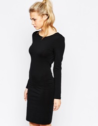 True Decadence Long Sleeve Dress Black