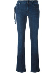 Jacob Cohen 'Julie' Bootcut Jeans Blue