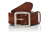 Felisi Men's Brushed Suede Belt Brown