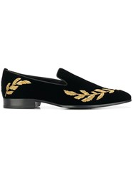 Jimmy Choo Saul Slippers Black