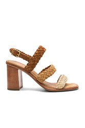 Frye Amy Braid Sandal Tan