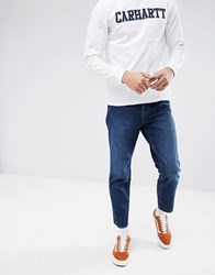 Cheap Monday In Law Tapered Jeans Sure Blue Sure Blue