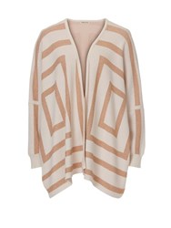 Betty Barclay Knitted Poncho Multi Coloured Multi Coloured
