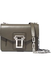 Proenza Schouler Hava Leather Shoulder Bag Army Green