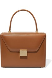 Victoria Beckham Vanity Leather Tote Tan Gbp