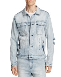 Zanerobe Greaser Denim Jacket Light Blue