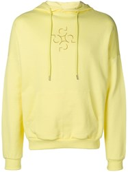 Cottweiler Hooded Sweatshirt Yellow