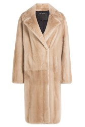 Marc Jacobs Mink Fur Coat Camel