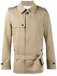 Valentino Short Trench Coat Nude And Neutrals