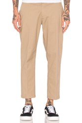 Obey Straggler Flooded Pant Tan