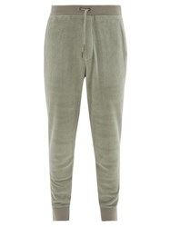 Ralph Lauren Purple Label Technical Fleece Track Pants Grey