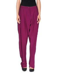 Vivienne Westwood Anglomania Trousers Casual Trousers Women Garnet
