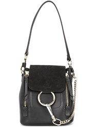 Chloe Mini Faye Backpack Black