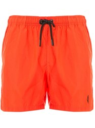 Marcelo Burlon County Of Milan Cross Logo Swim Shorts 60