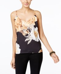 Inc International Concepts Petite Printed Tank Only At Macy's Navy Floral