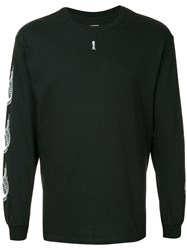 Sasquatchfabrix. Graphic Print Sweatshirt Black