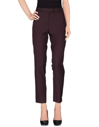 Beatrice. B Casual Pants Deep Purple