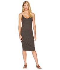 Hurley Reversible Fitted Dress Dark Russet Red