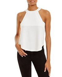 J.O.A. Sleeveless Crepe Top