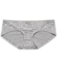Motherhood Maternity Hipster Briefs Grey And White Star Print