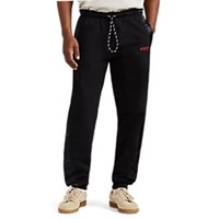 Adidas By Alexander Wang Satin Trimmed Fleece Jogger Pants Black