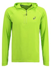 Asics Fujitrail Long Sleeved Top Keylime Neon Yellow