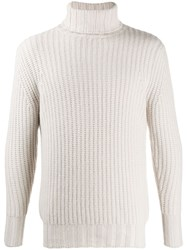 N.Peal Turtleneck Knitted Jumper Neutrals