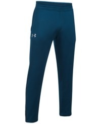 Under Armour Men's French Terry Track Pants Blue
