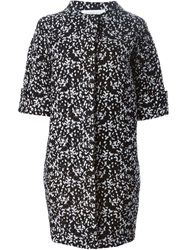 Gianluca Capannolo Egg Shaped Short Sleeved Coat Black