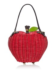 Ollie And Nic Apple Bag Red