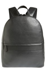 Ted Baker London Rickrak Leather Backpack Black