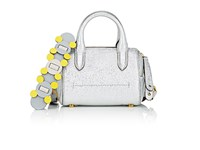 Anya Hindmarch Women's Vere Mini Duffel Bag Silver