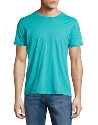 Brooks Brothers Short Sleeved Pullover Tee Green