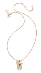 Salvatore Ferragamo Nodo Necklace Oro