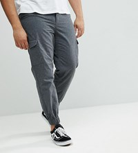 Another Influence Plus Cargo Trousers Grey