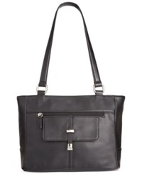 Giani Bernini Nappa Leather Belt Tote Only At Macy's