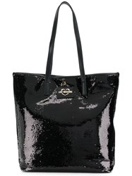 Love Moschino Sequin Embellished Tote Black
