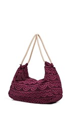 Pilyq Allison Lace Bag Vino