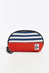 Chums Sweat Nylon Shell Pouch Red Multi