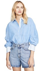 Joie Drusilla Top French Chambray