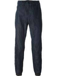 Sacai Tapered Trousers Blue