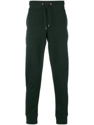 Paul Smith Ps By Drawstring Track Pants Organic Cotton Green