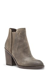 Andrew Marc New York Women's Madison Chelsea Boot Olive Suede