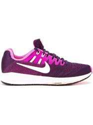 Nike 'Zoom Structure 20' Sneakers Pink Purple