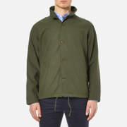 Garbstore Men's M65 Coach Jacket Olive Green